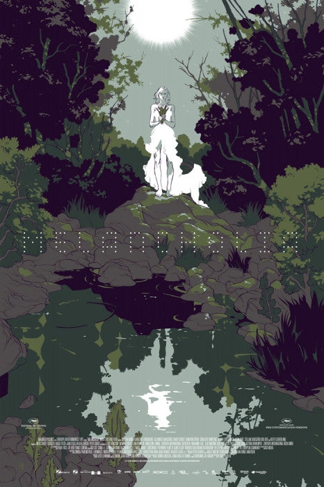 Melancholia Green Colorway Tomer Hanuka poster