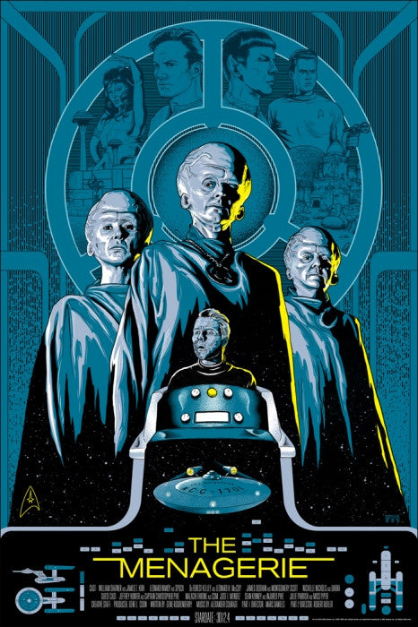 Star Trek Menagerie  Mike Saputo poster