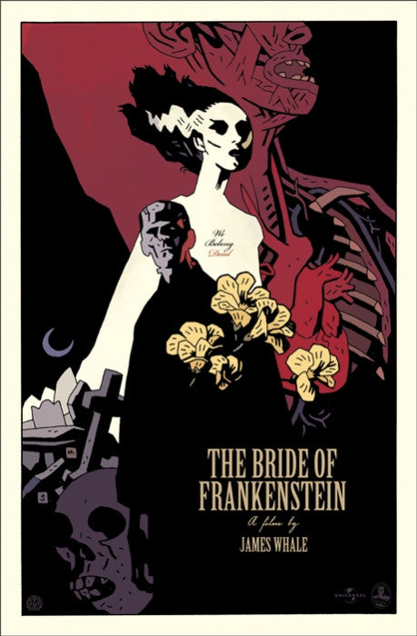 The Bride of Frankenstein   Mignola Mike Mignola poster