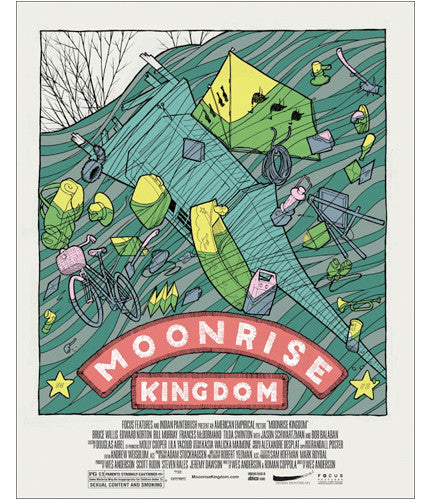 Moonrise Kingdom Jay Ryan poster