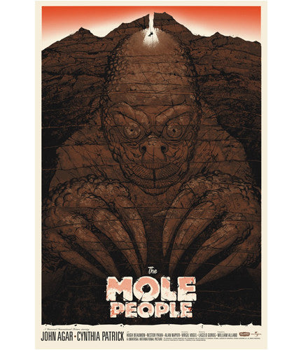 The Mole People Phantom City Creative poster