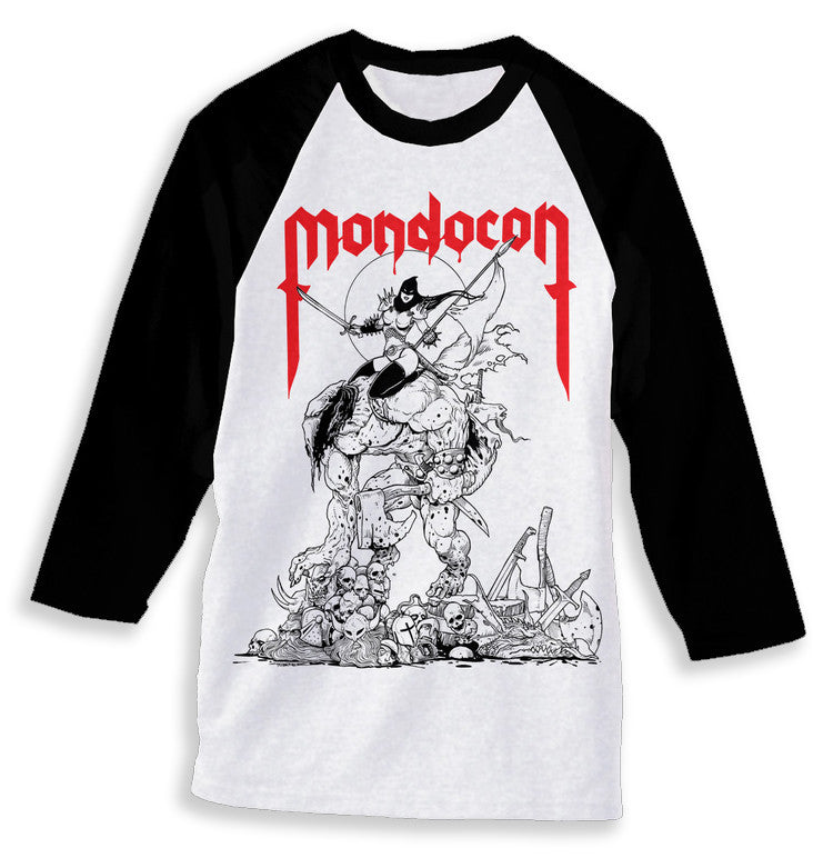 "MondoCon 2015 ""Tour"" Raglan"