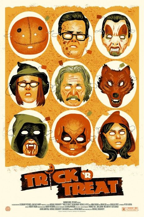Trick r Treat Phantom City Creative poster