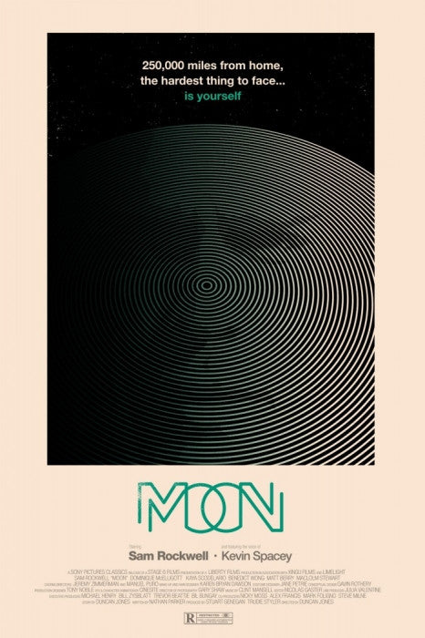 Moon Olly Moss poster