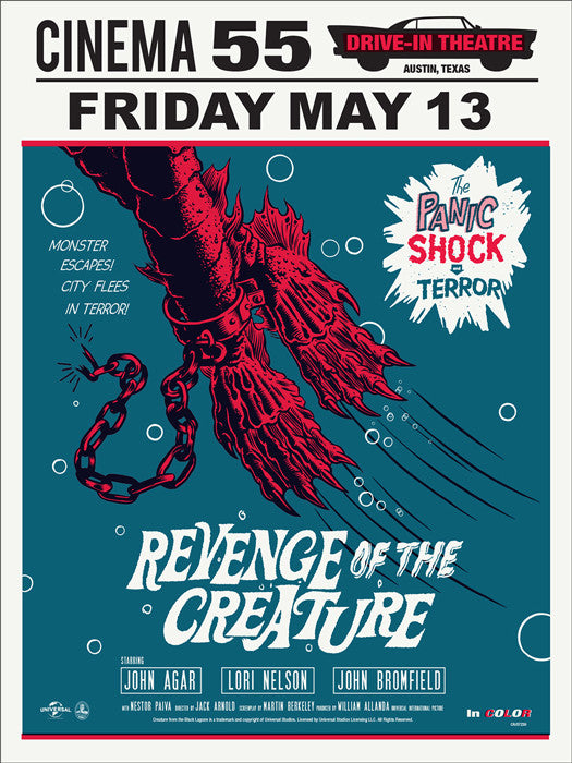 Revenge of the Creature Morning Breath poster