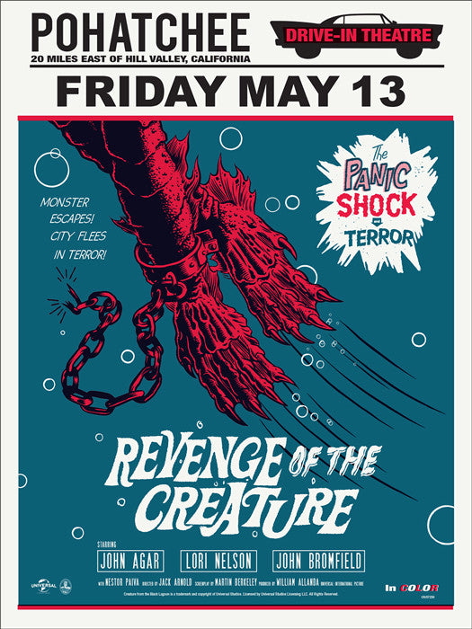 Revenge of the Creature   Variant Morning Breath poster