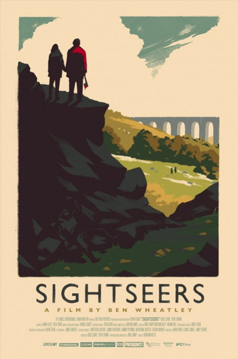 Sightseers Olly Moss poster