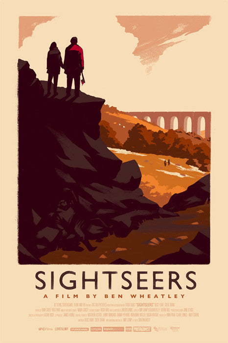 Sightseers Variant Olly Moss poster