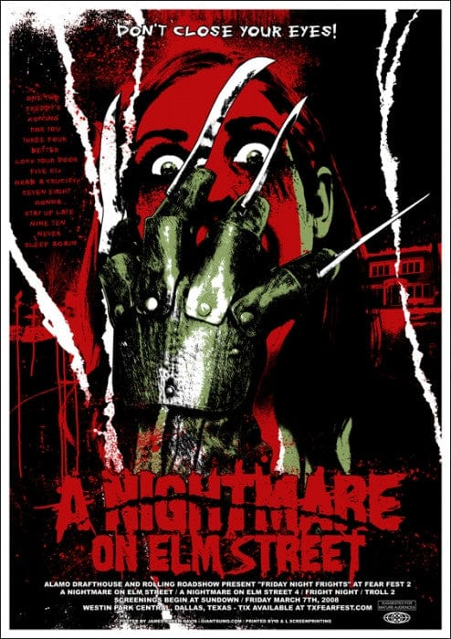 A Nightmare On Elm Street James Rheem Davis poster
