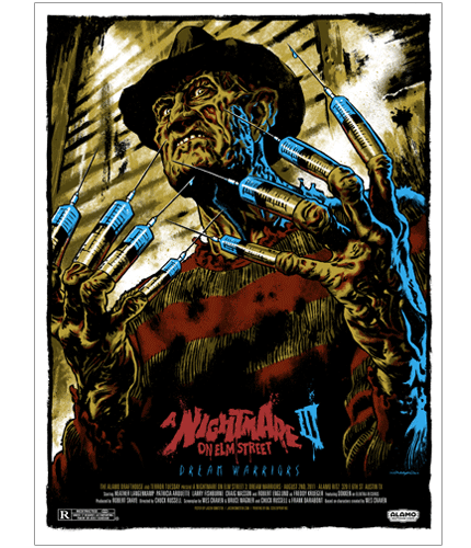 Nightmare on Elm Street 3 Dream Warriors Jason Edmiston poster