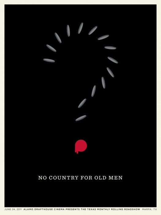No Country For Old Men Jason Munn poster