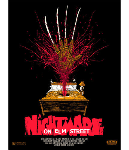 Nightmare on Elm Street Alex Pardee poster