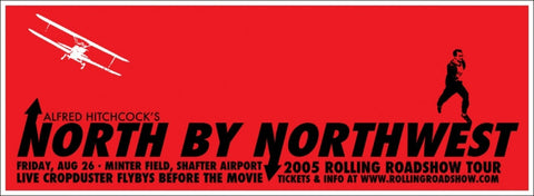 North By Northwest Rob Jones poster
