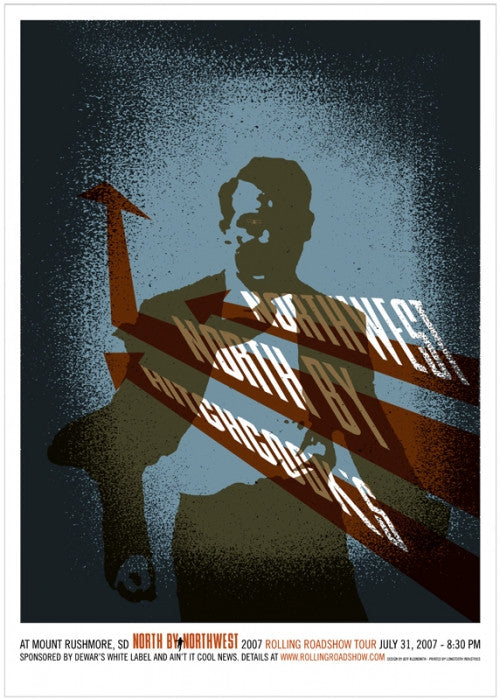 North By Northwest Jeff Kleinsmith poster