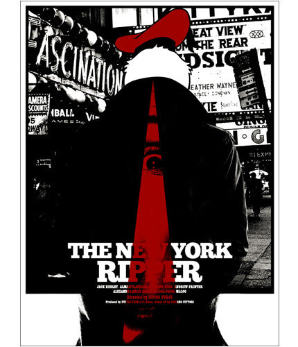 The New York Ripper Jay Shaw poster