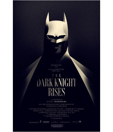 The Dark Knight Rises Olly Moss poster