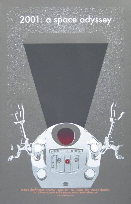 2001 A Space Odyssey Jay Ryan poster