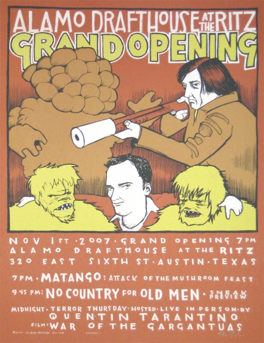 Ritz Grand Opening Jay Ryan poster
