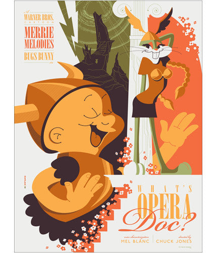 Whats Opera Doc Tom Whalen poster