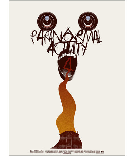 Paranormal Activity 4 Jay Shaw poster