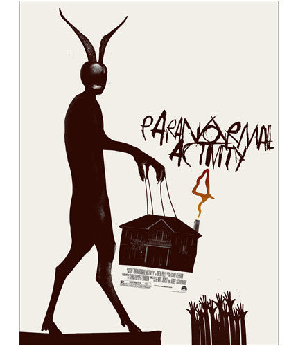 Paranormal Activity 4   Variant Jay Shaw poster