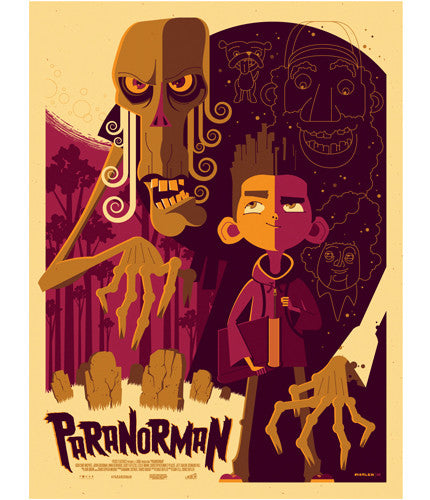 ParaNorman Tom Whalen poster