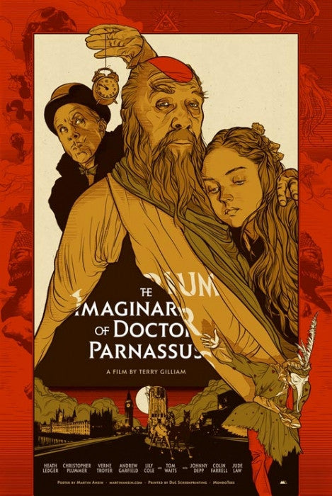 The Imaginarium Of Doctor Parnassus Martin Ansin poster