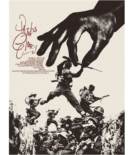 Paths of Glory Jay Shaw poster