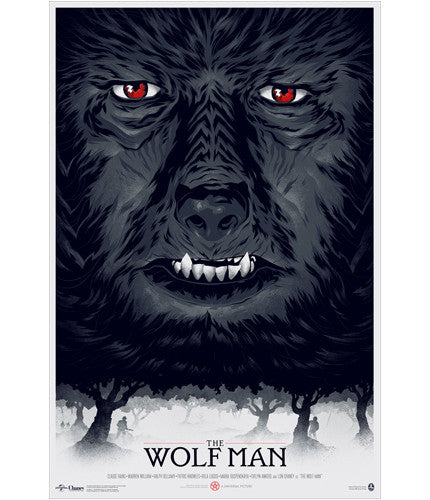 The Wolf Man   PCC Phantom City Creative poster