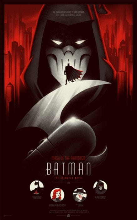 Batman Mask of the Phantasm Phantom City Creative poster