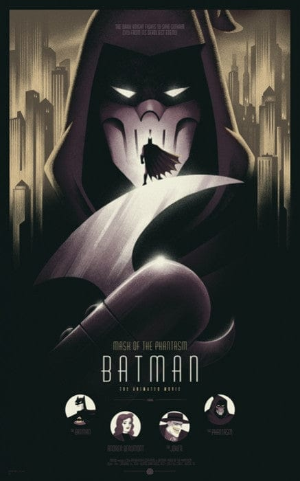 Batman Mask of the Phantasm Variant Phantom City Creative poster