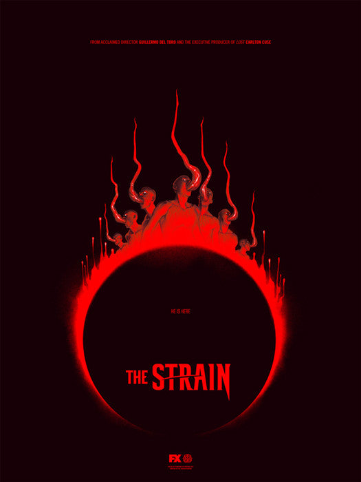 The Strain Version 1 Phantom City Creative poster