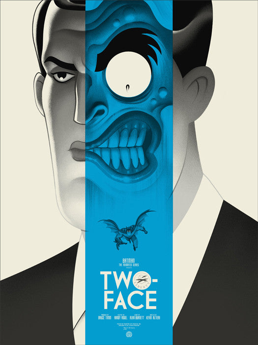 Two Face Variant Phantom City Creative poster