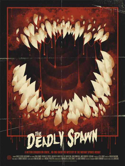 The Deadly Spawn Phantom City Creative poster