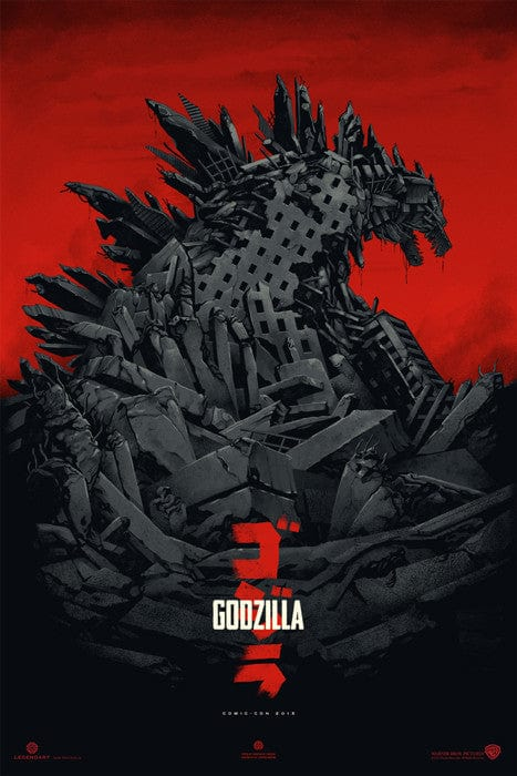 Godzilla-Phantom City Creative-poster