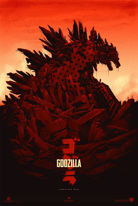 Godzilla - Variant-Phantom City Creative-poster