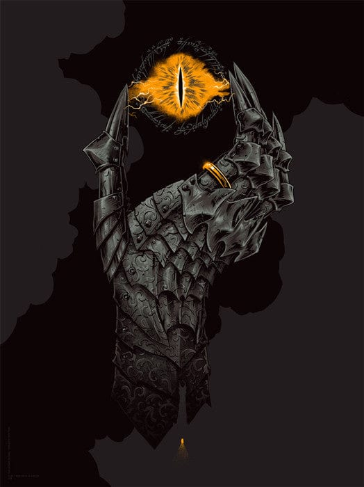 Hand of Sauron Phantom City Creative poster