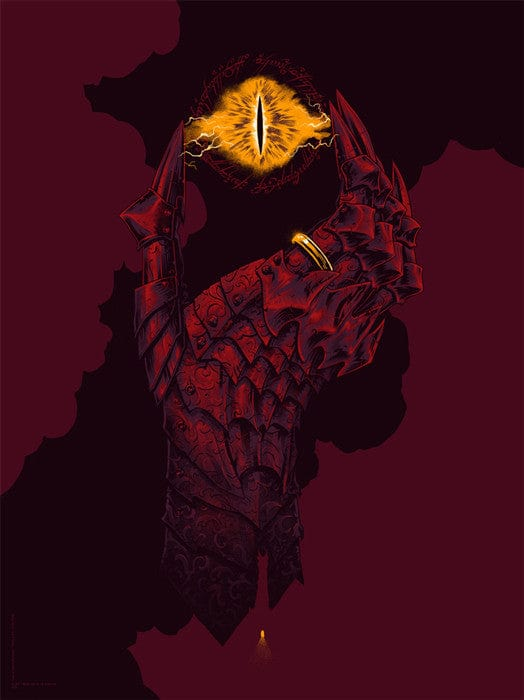 Hand of Sauron Variant Phantom City Creative poster