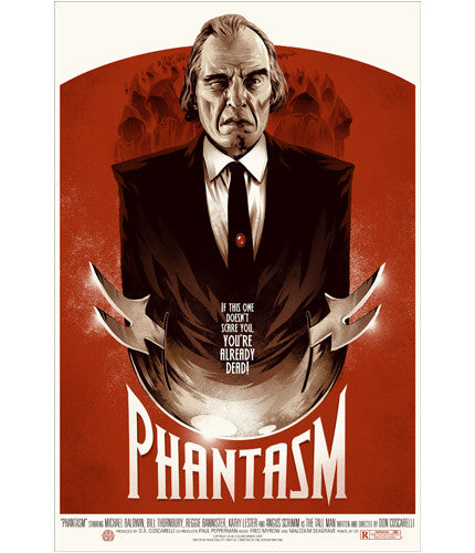Phantasm Phantom City Creative poster