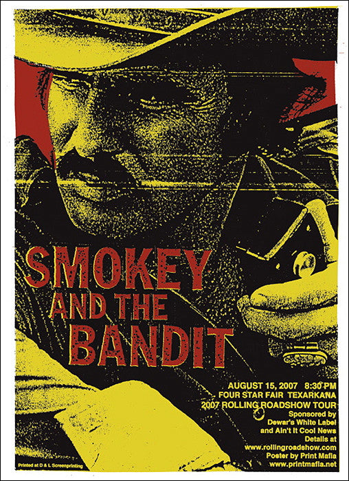 Smokey And The Bandit Print Mafia poster