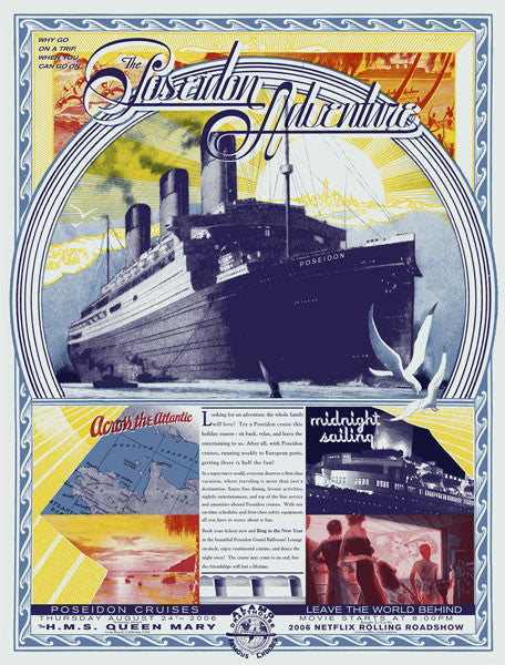 Poseidon Adventure Burlesque Of North America poster