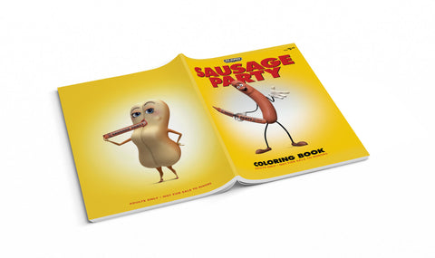 Sausage Party Coloring Book
