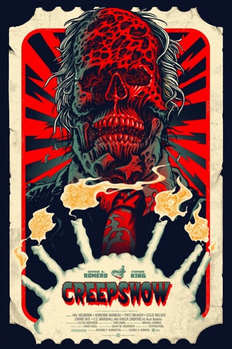 Image result for creepshow mondo poster