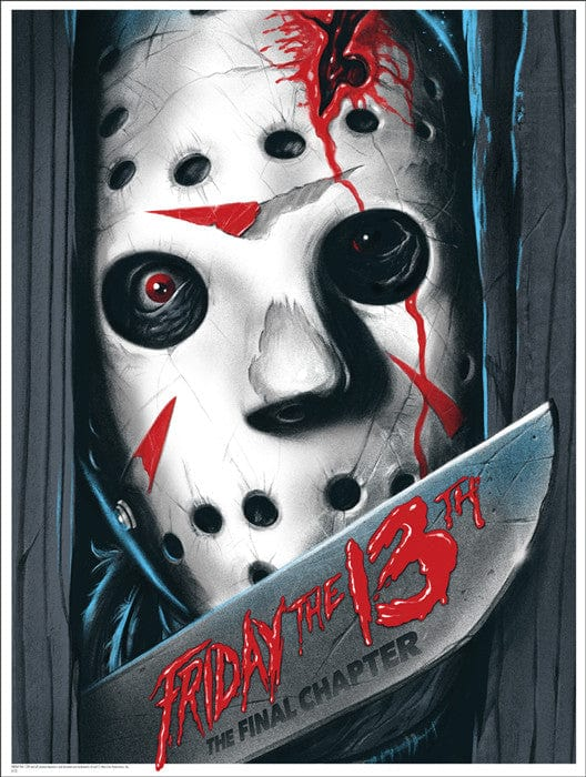 Friday the 13th The Final Chapter Ghoulish Gary Pullin poster