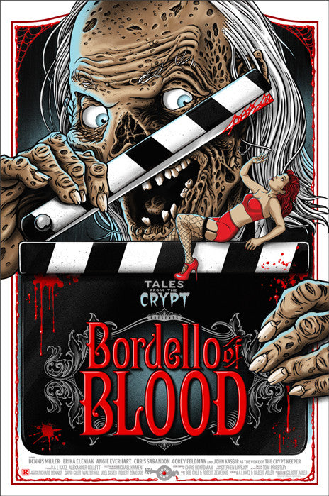 Tales from the Crypt Bordello of Blood Ghoulish Gary Pullin poster