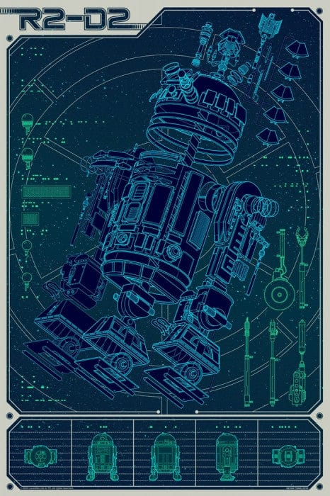 A Linch Pin Droid Kevin Tong poster