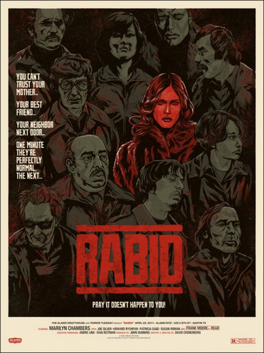 Rabid Phantom City Creative poster