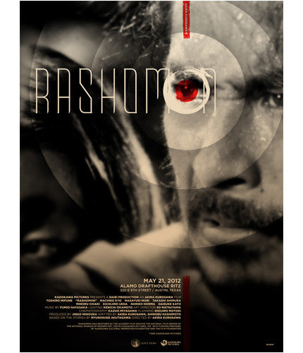 Rashomon Delicious Design League poster