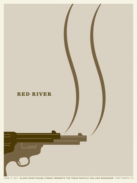 Red River Jason Munn poster