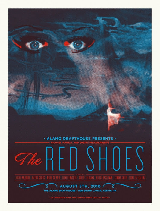 The Red Shoes Aesthetic Apparatus poster